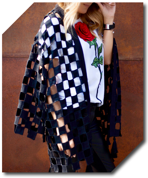Checkerboard Jacket