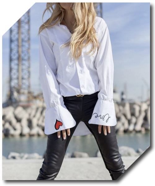 White crisp shirt glamrenaissance an exclusive atelier for Crisp white cotton shirt